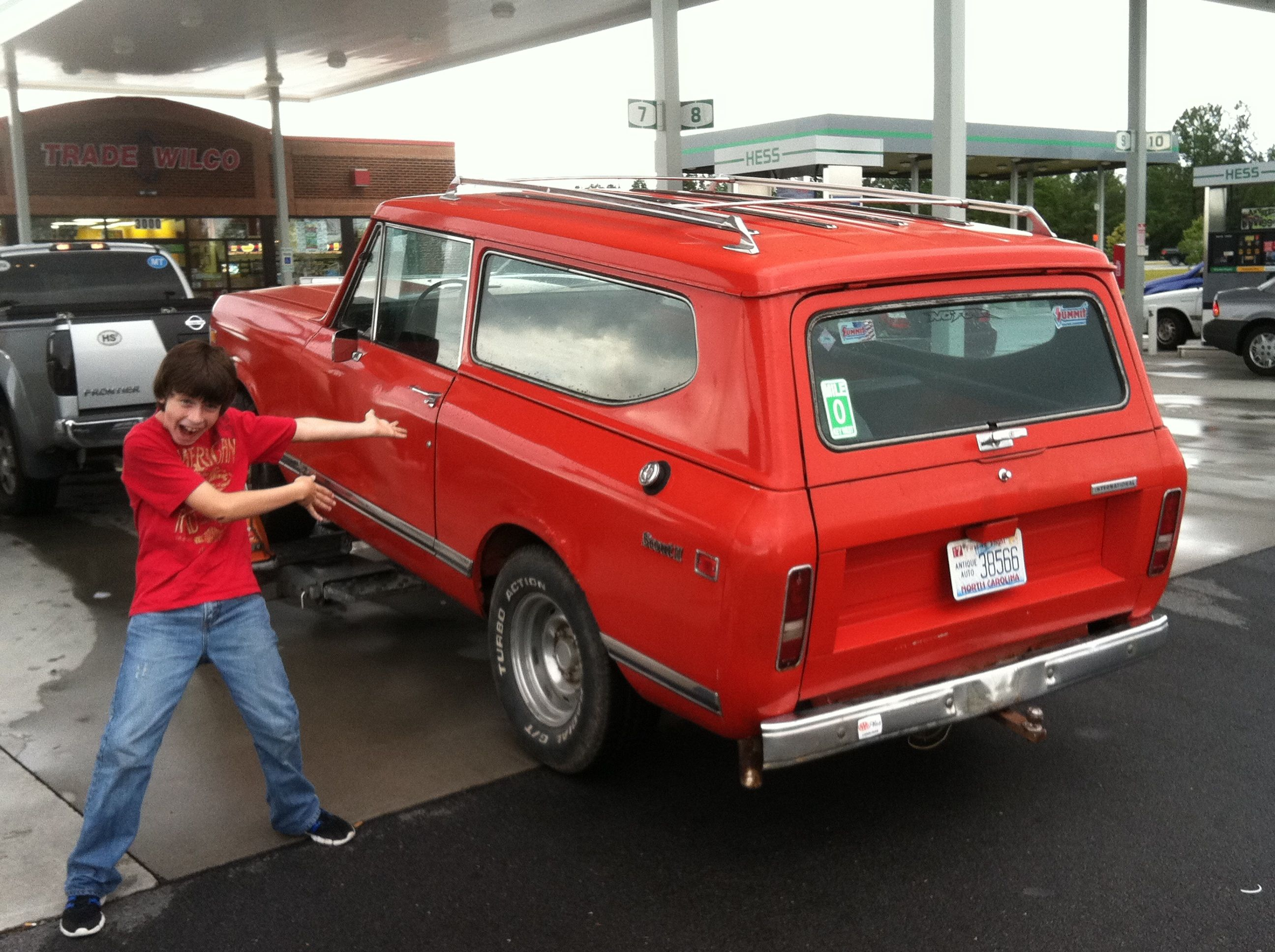 New To Me And My 12 Year Old 1971 Scout Ii International Scout International Scout 2 Scout