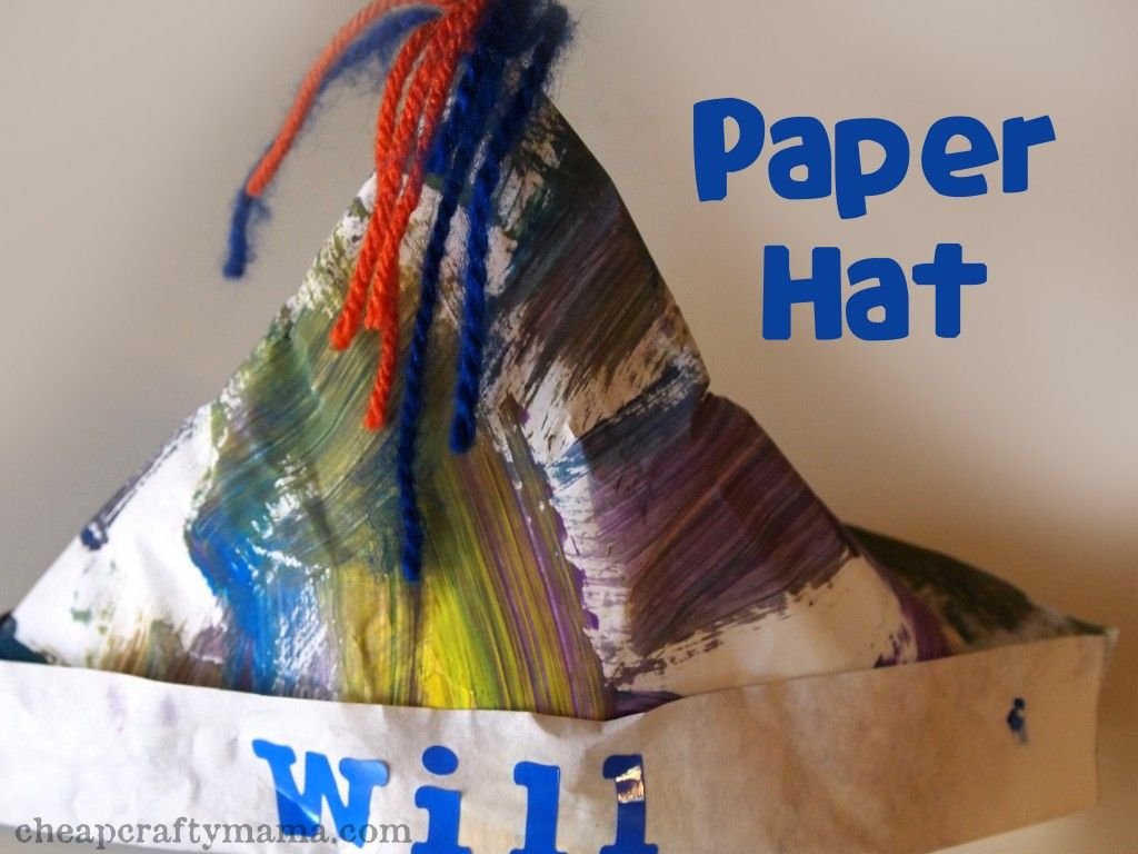 H is for Hat- alphabet crafts #911craftsfortoddlers