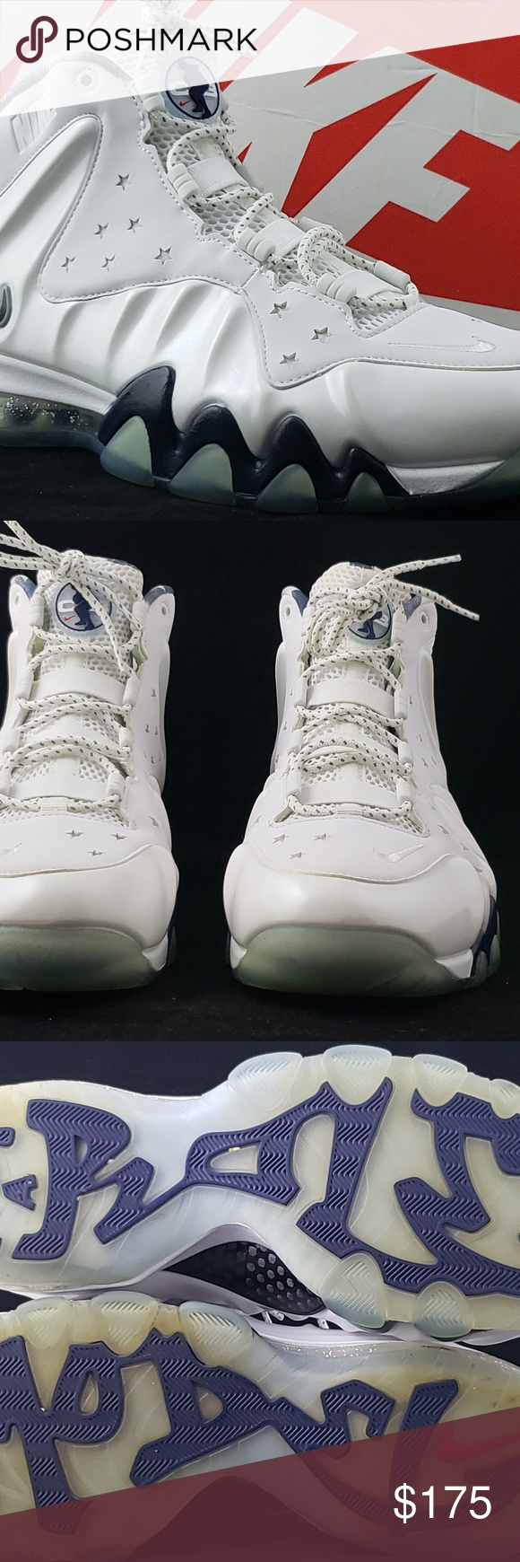 edc37da6a84 🎉HP🎉 Nike Charles Barkley Posite Max Prm Nike Barkley Posite Max Color   White