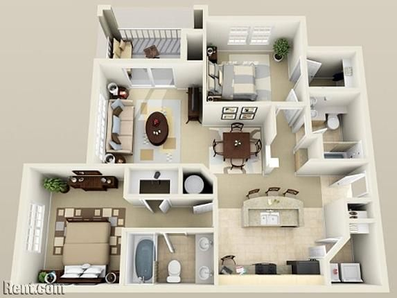 Vista Sands Apartment Design Apartment Floor Plans Apartment Layout