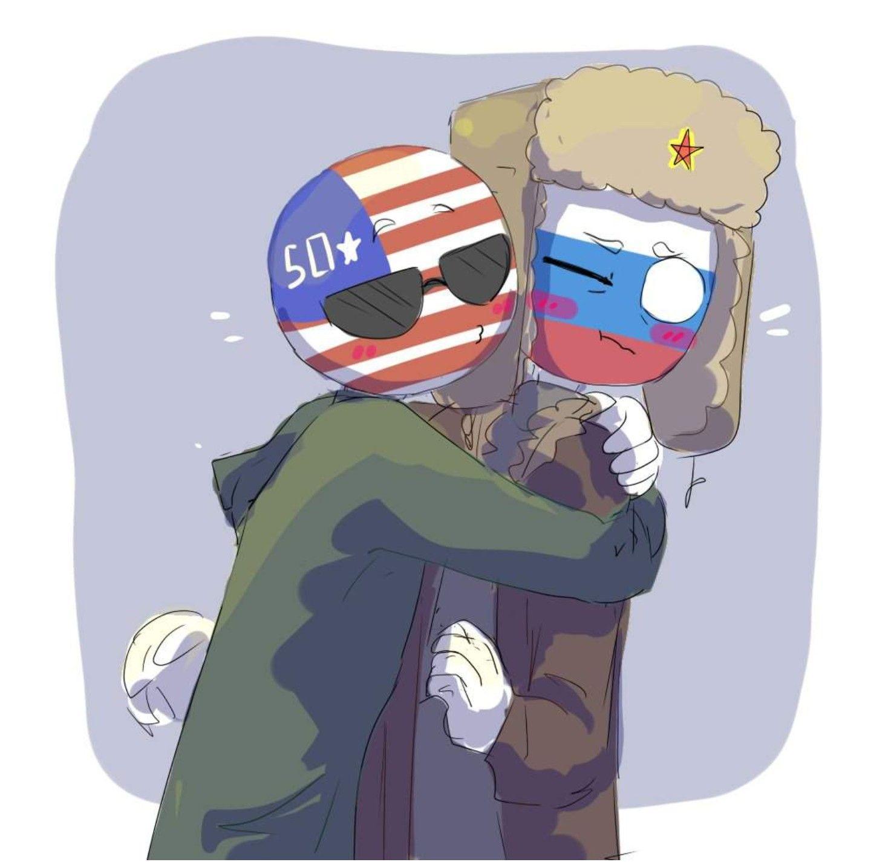 картинки сша и россии в виде людей описание