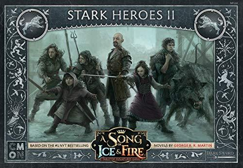 A Song Of Ice Fire Tabletop Miniatures Game Stark Heroes 2