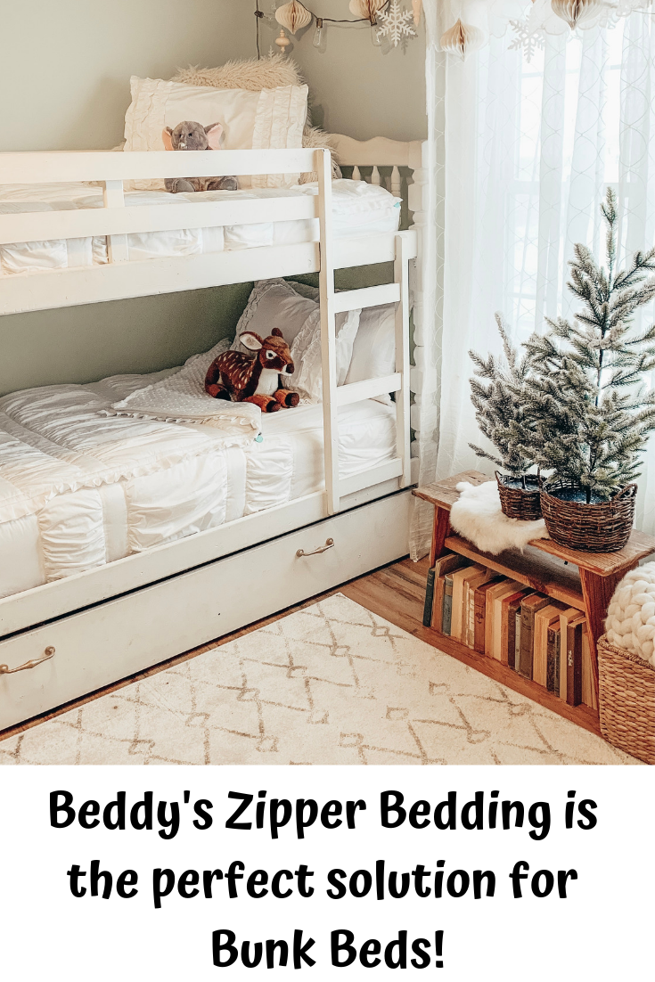 We All Know That Bunk Beds Are Difficult When It Comes To Making Your Bed Beddy S Is The Perfect Solution Zipper Bedding Diy Boho Decor Floral Bedroom Decor