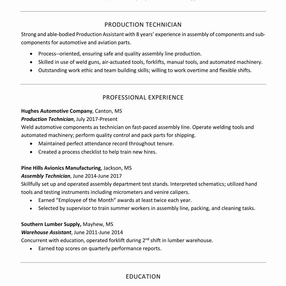 Basic Resume Headline Huroncountychamber Com