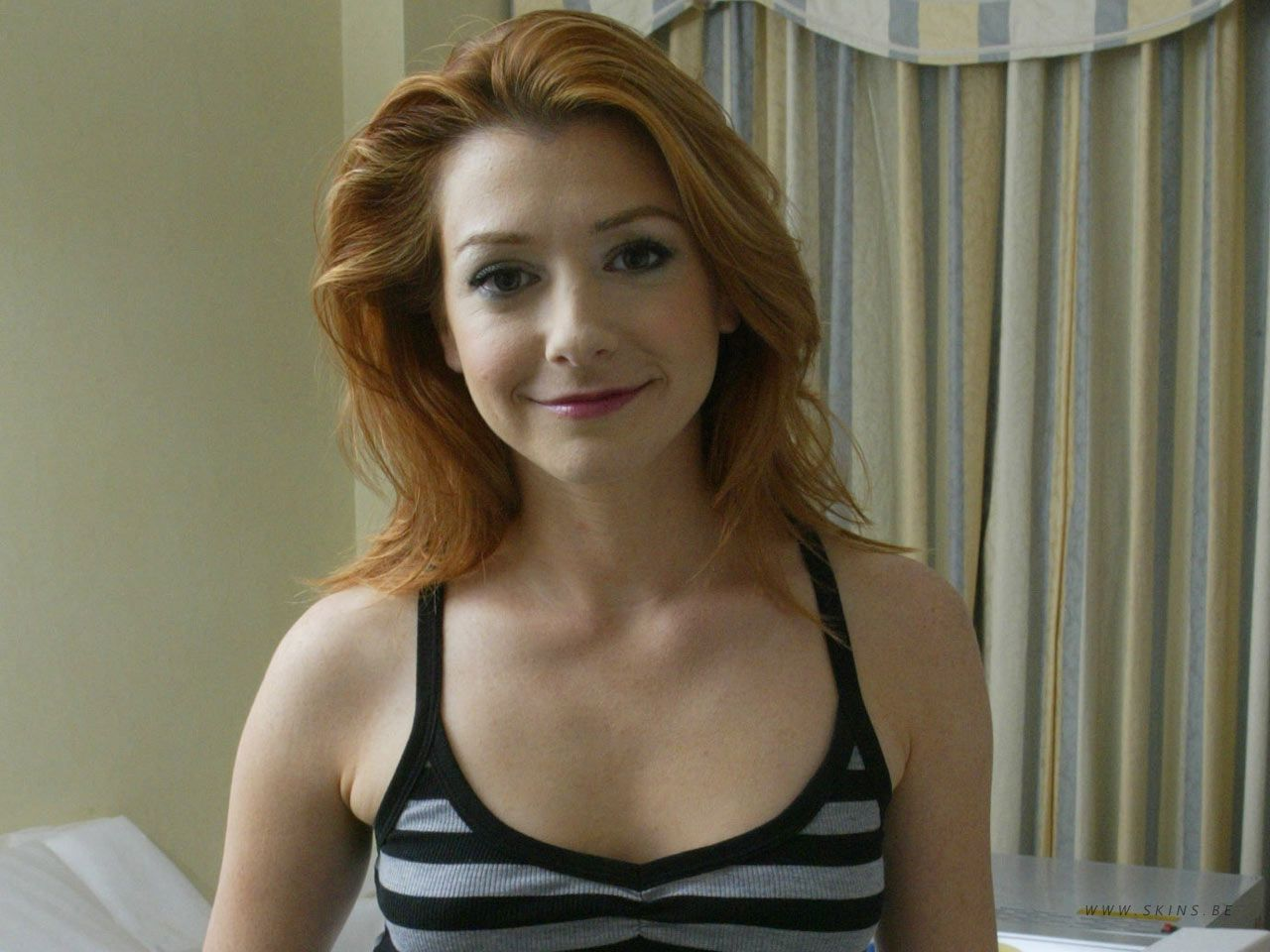 Like alyson hannigan nude pic know, you