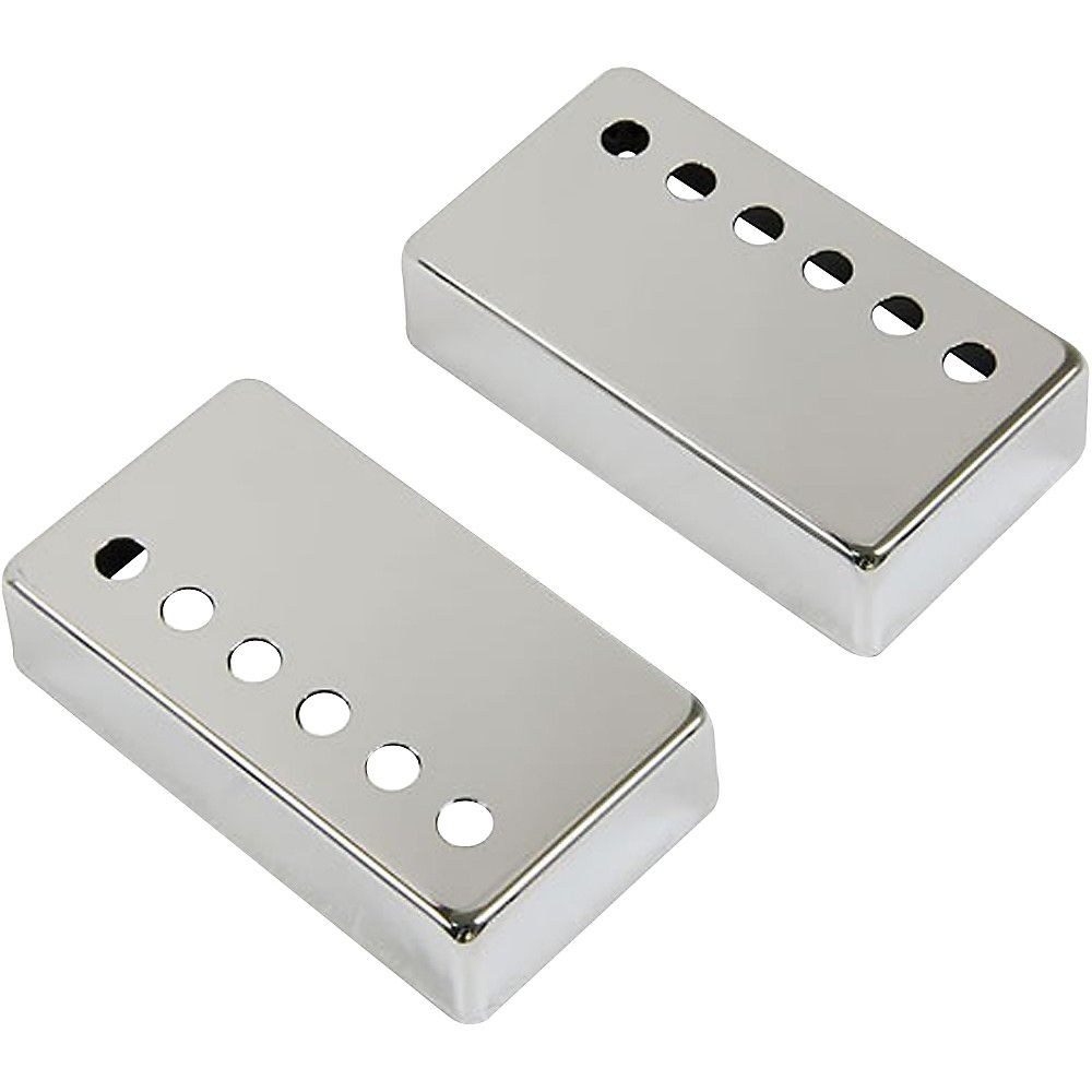 humbucker pickup cover 2 pack chrome products pickup covers guitar pickups guitar parts. Black Bedroom Furniture Sets. Home Design Ideas