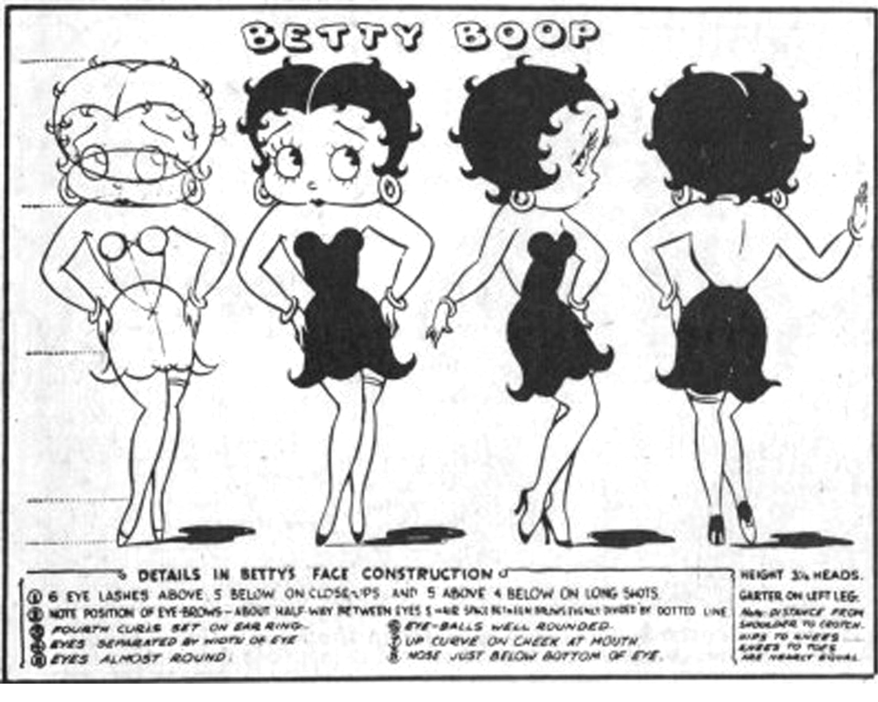 Betty boop model sheetproduction art concept art production betty boop model sheetproduction art amipublicfo Gallery