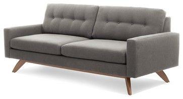 Contemporary Sofa Truemodern Luna Modern Sofas By True