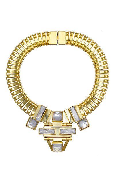 Elie Saab Gold Accessories Pre-Fall 2013 1-0