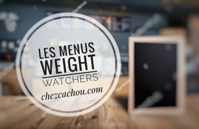Idées menus hiver Weight Watchers