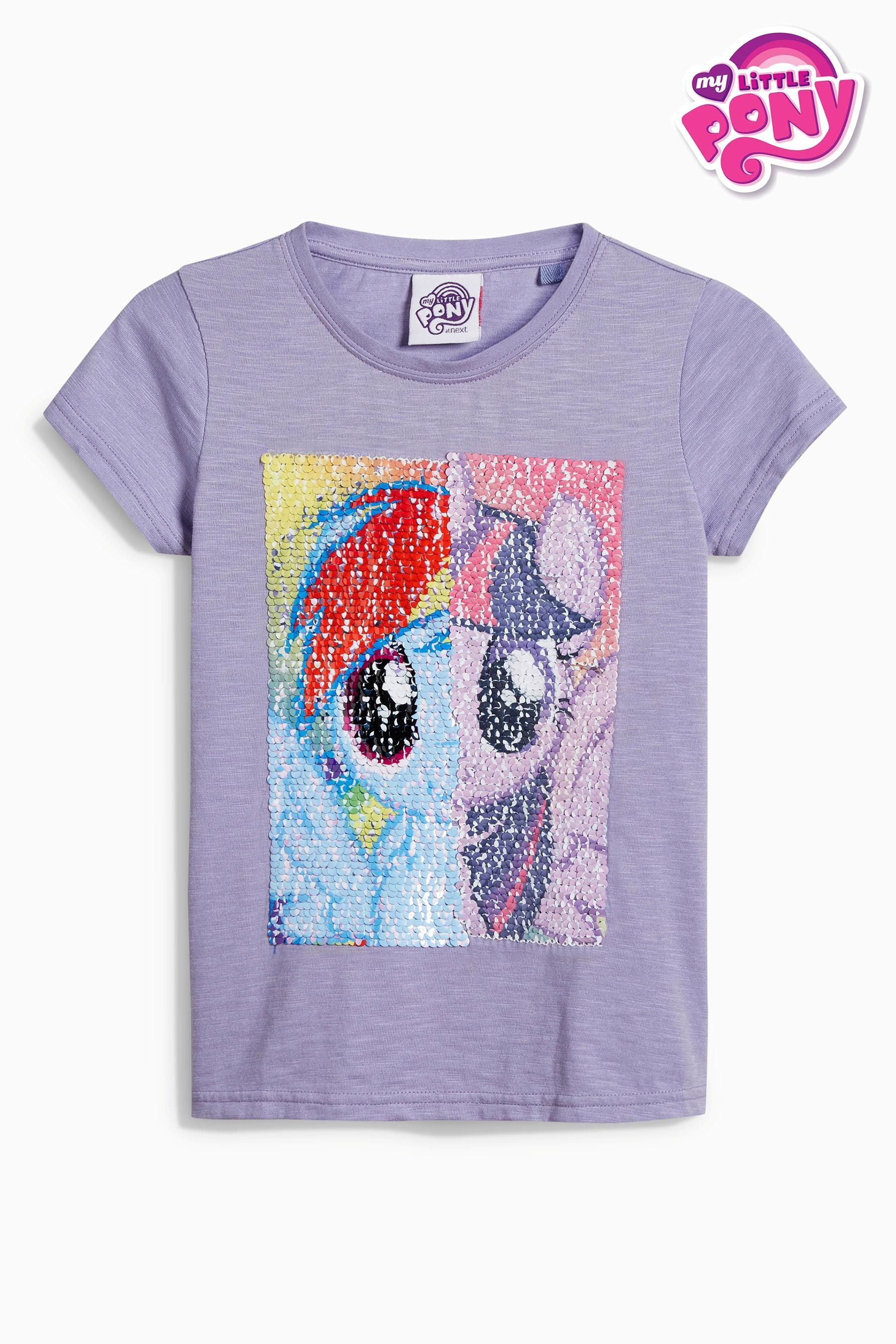 18c1fd85 Buy Lilac My Little Pony Short Sleeve T-Shirt (3-16yrs) from the Next UK  online shop