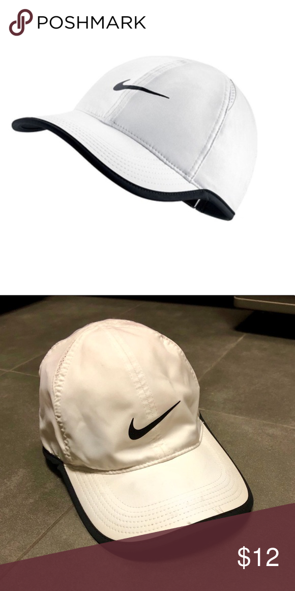 f311354270a White Nike Hat Like new