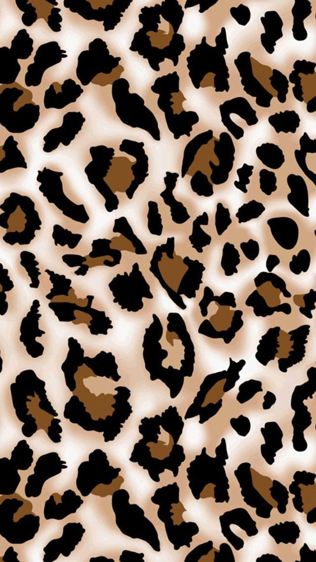 Brown & Black Leopard Leopard print wallpaper, Animal