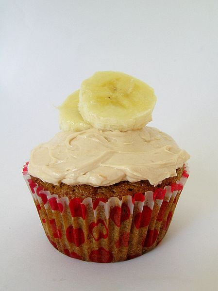 The Sweetest Kitchen » Blog Archive » Banana Cupcakes With Caramel Buttercream
