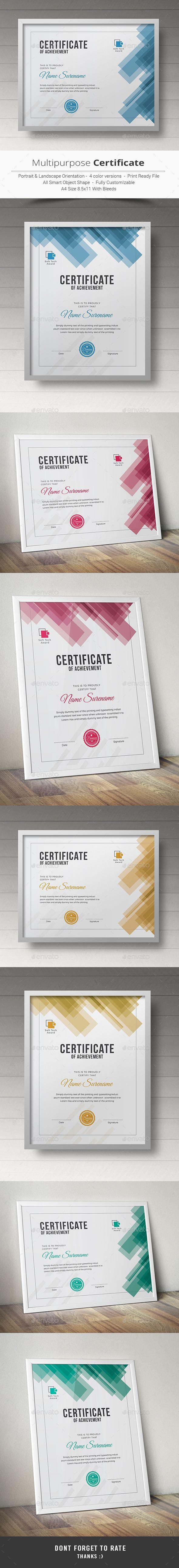 Certificate | Gaube und Urkunde