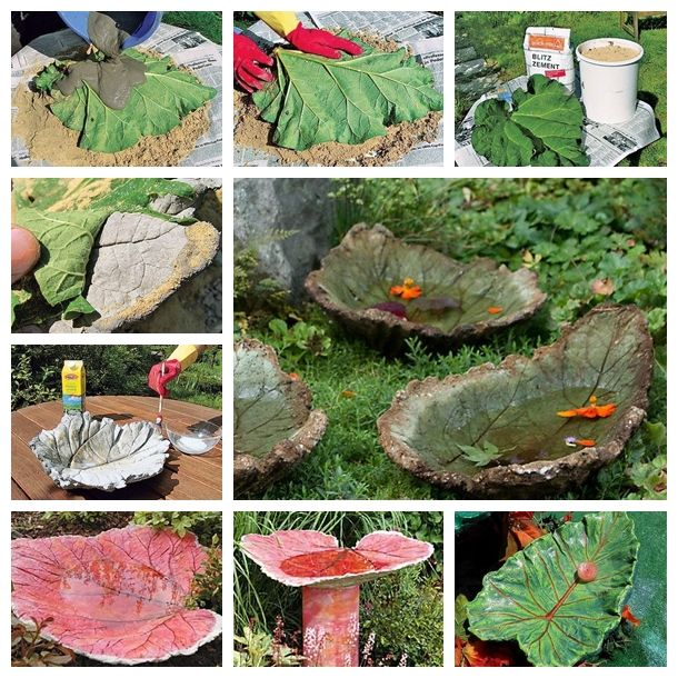 Are you  looking for an easy project that will add beauty to your yard and provide enjoyment for the birds?   Make a sand cast birdbath ---> http://wonderfuldiy.com/wonderful-diy-sand-cast-birdbath/