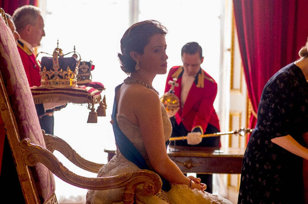 """Gloriana."" Elizabeth II, Netflix' ""The Crown."""