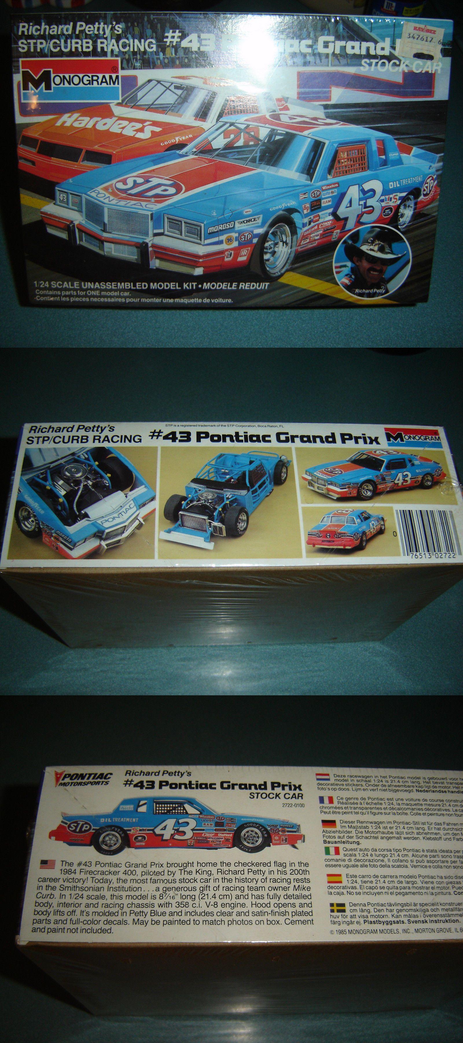 MONOGRAM 2722 RICHARD PETTY 43 GRAND PRIX STP 1//24 FS Model Car Mountain 1984