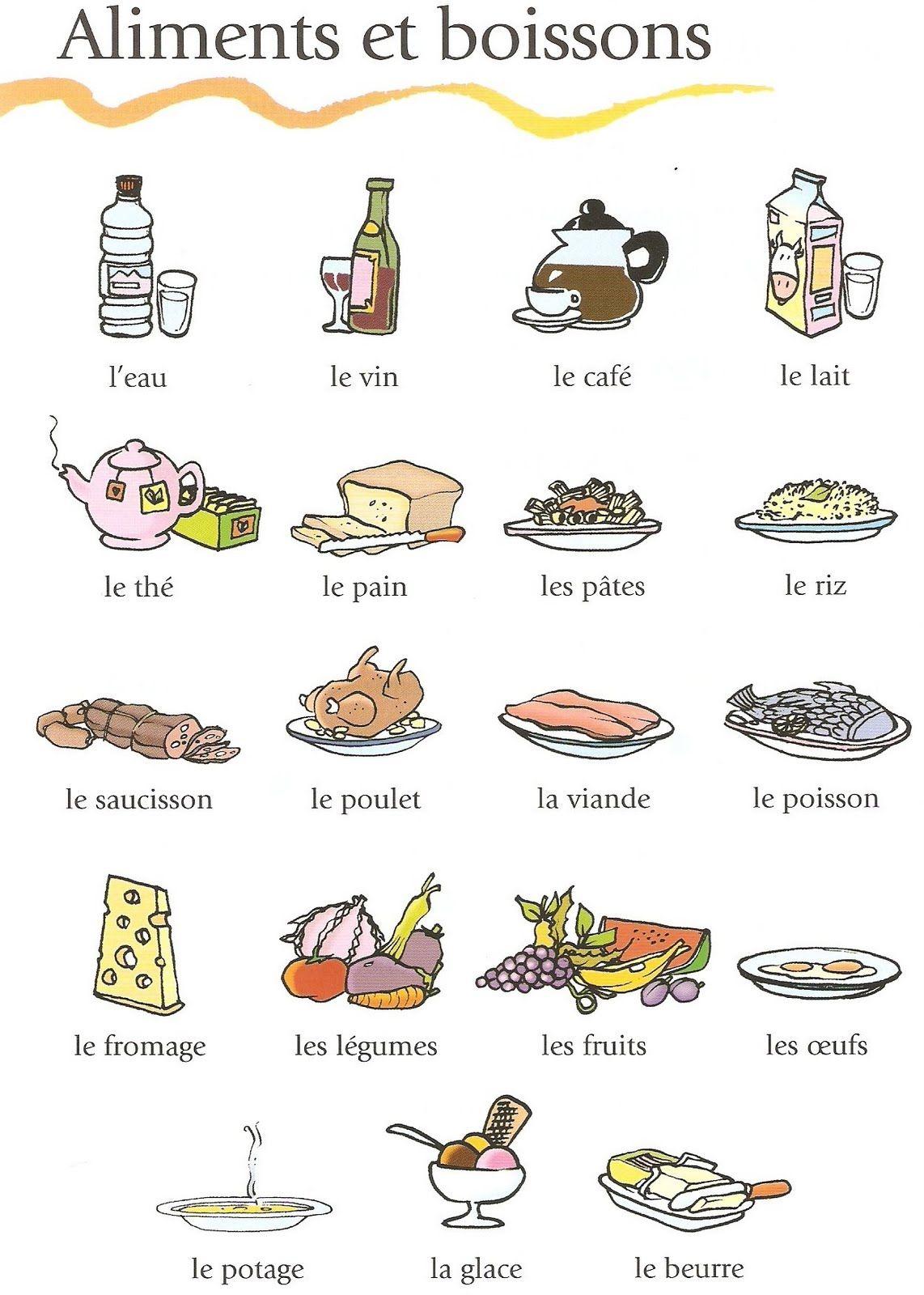 Pingl par caro demefack sur french for kids pinterest for Vocabulaire ustensiles de cuisine