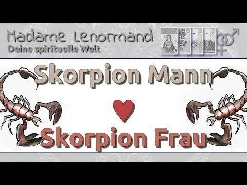 Skorpionfrau Und Fischemann