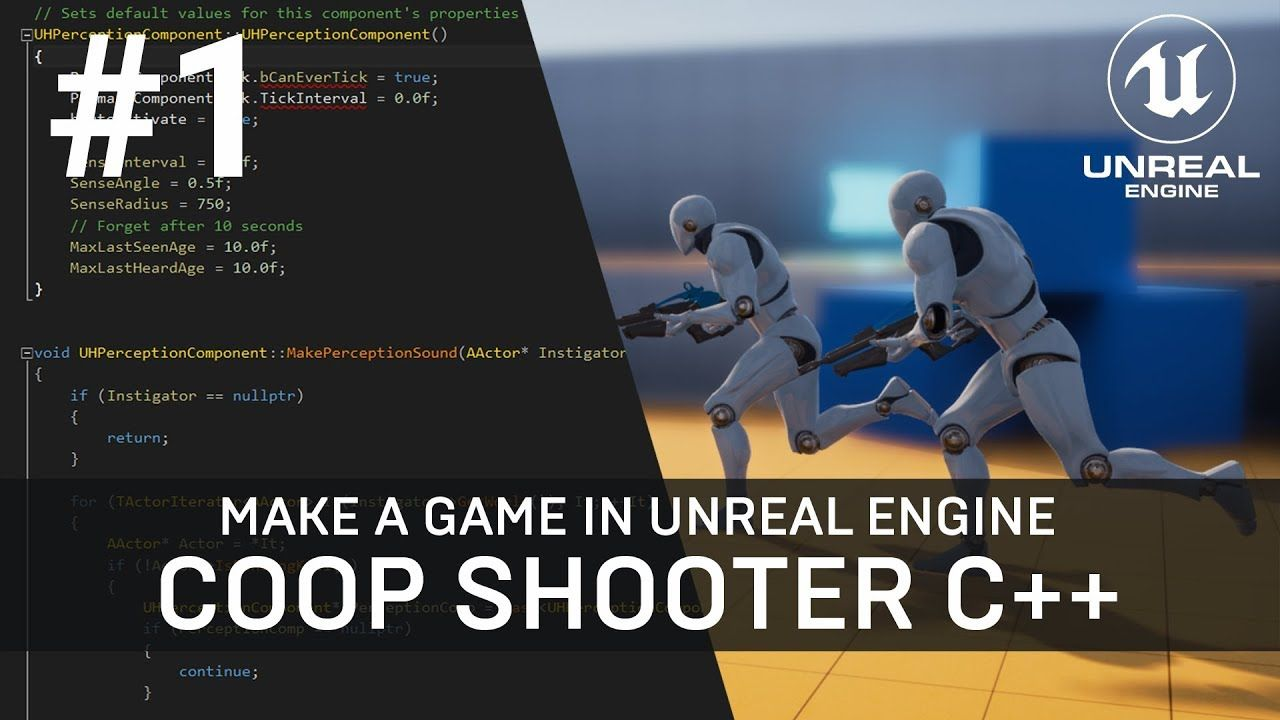 Unreal Engine C Tutorial Multiplayer Shooter Game with