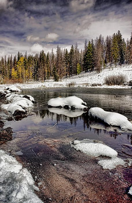 Winter in the High Country, Vail area, Colorado