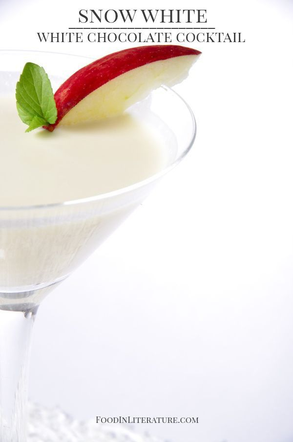 Snow White Chocolate Cocktail #snowwhite