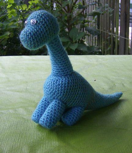 Dudley Dinosaur Free Rav DL | Crochet | Pinterest | Häckeln ...