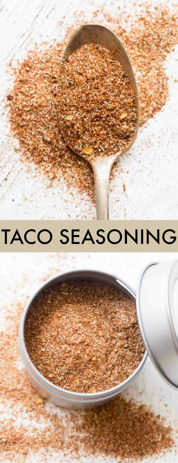 Homemade Taco Seasoning Recipe #maketacoseasoning
