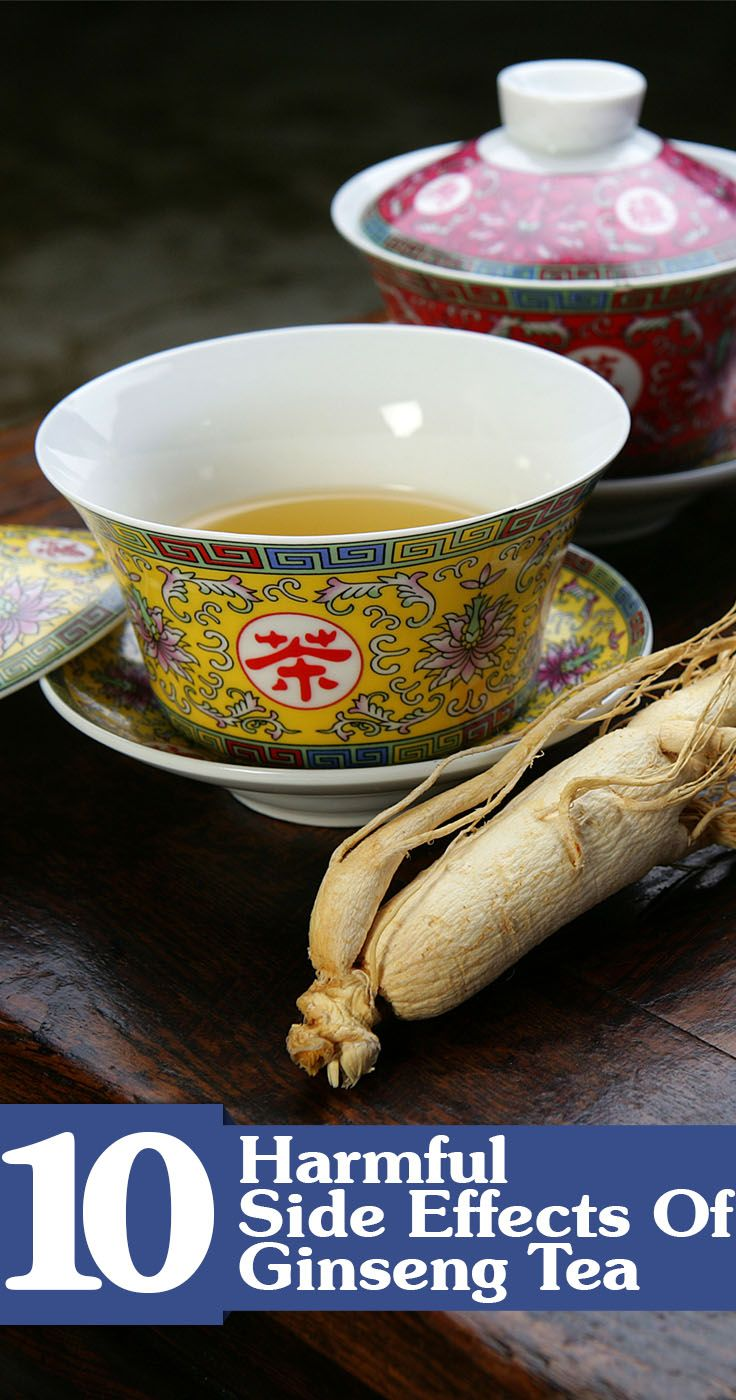 12 Harmful Effects Of Ginseng Tea