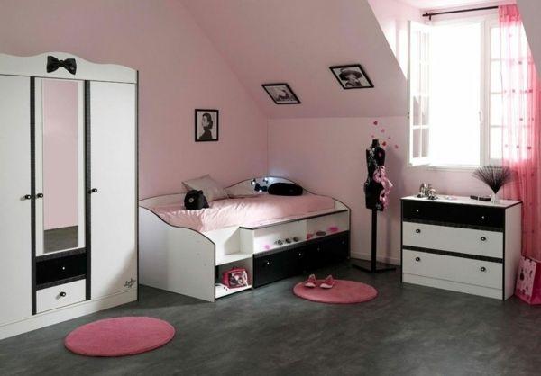 Chambre ado fille - 38 idées pour la déco et l\'aménagement | Ado ...