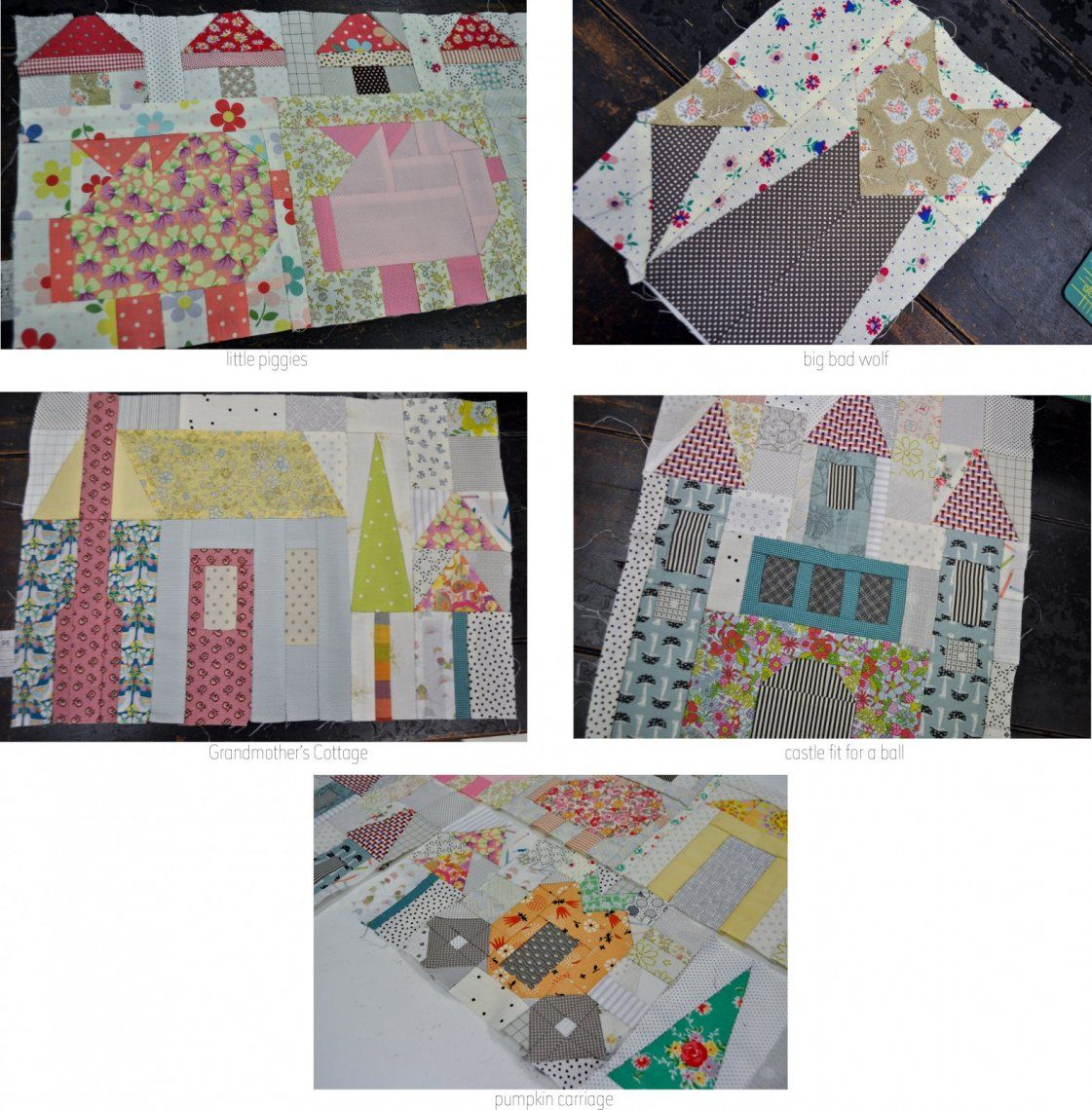 Block of The Month & Fabric Clubs. That fairy tale quilt by Lucy ... : fairy tale quilt patterns - Adamdwight.com