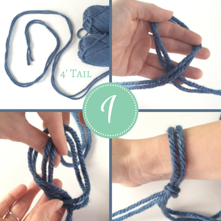Learn How To Arm Knit A Scarf Quick And Easy Knitting Arm Knitting