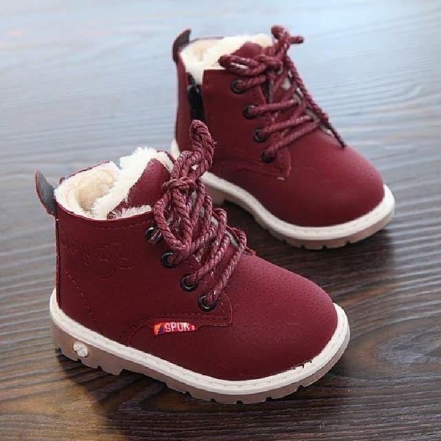 Toddler Anti-Slip Snow Boots in 2019  32750ccf4dbf