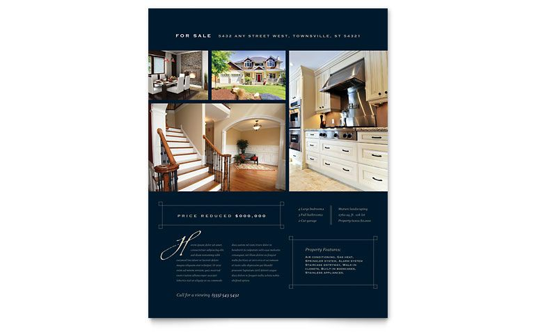 real estate e flyers