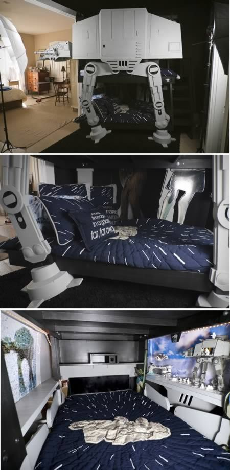 10 Seriously Awesome Pieces of Geeky Furniture  Star Wars Bunk BedsStar. 10 Seriously Awesome Pieces of Geeky Furniture   Awesome
