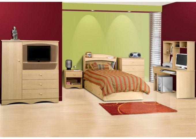 18 Brilliant Bedroom Designs With Creative Storage Ideas : Teenage ...