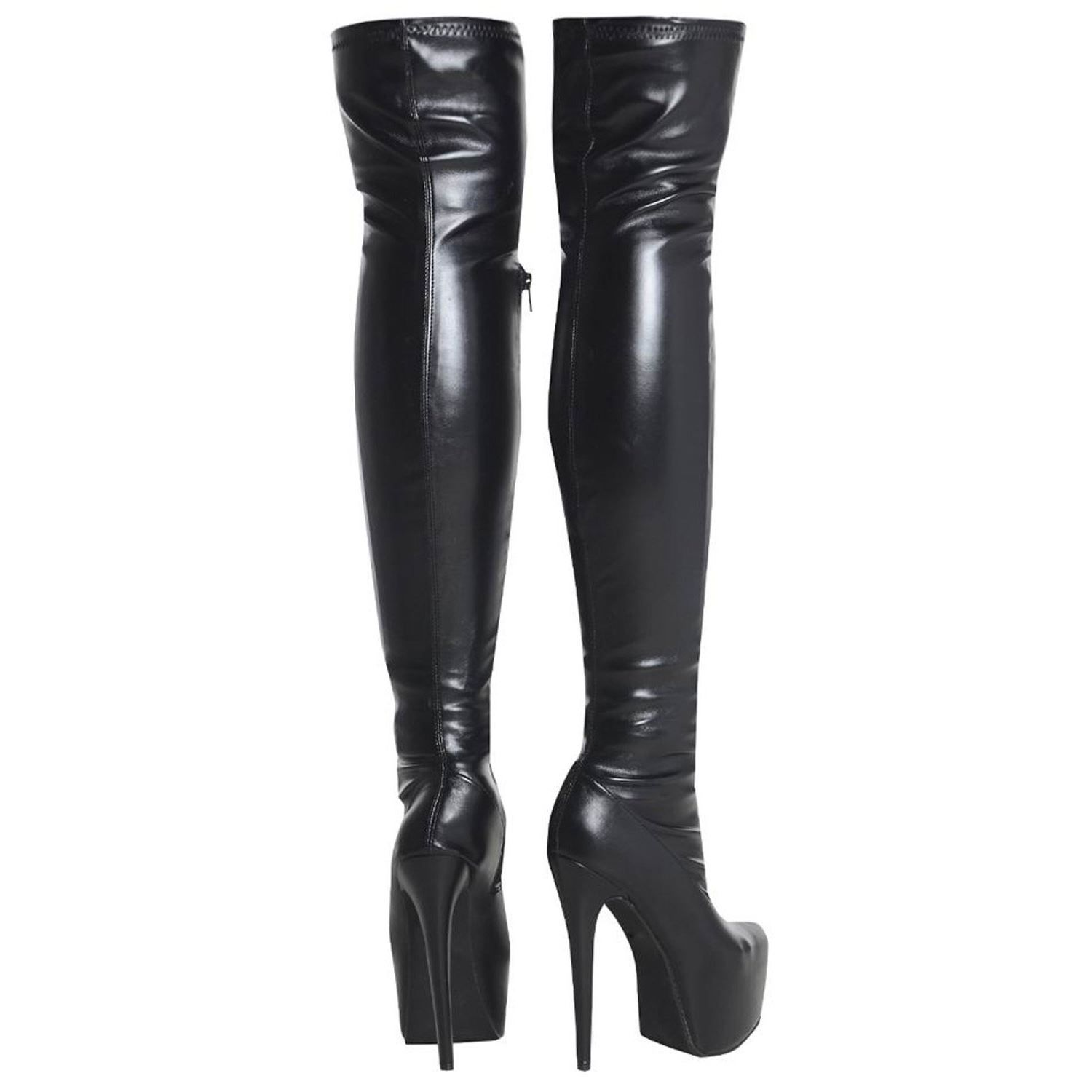 Fashion Thirsty Womens Mens Unisex Over Knee Thigh High Heel ...