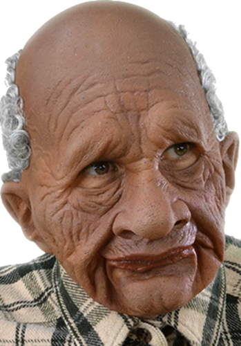 Gerry Attrick mask Moving mouth £59.99 Old man mask