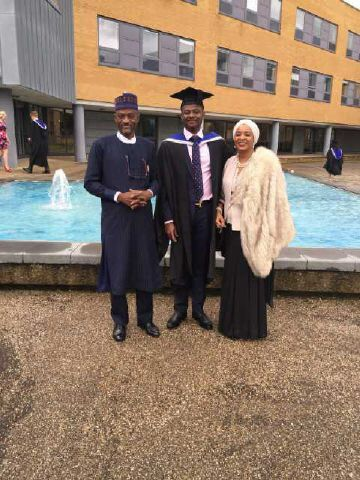 Ibrahim Umar Graduates With A First Class In Engineering - first class honours