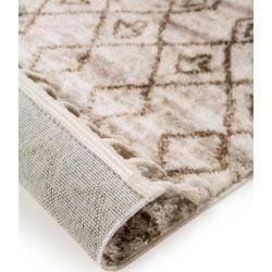 benuta Kurzflor Teppich Bela Beige/Braun 190x290 cm - Moderner Teppich für Wohnzimmer benuta #vintageweihnachtendeko
