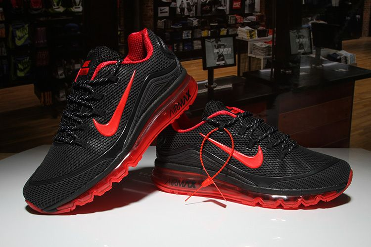 brand new 51535 236df Nike Air Max 2018 Black Red Men KPU | air maxs | Nike Air Max, Nike ...