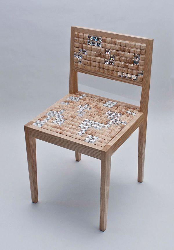 Mosaik Stuhl Esszimmer Design Idee Diy Mobel Mobel Stuhle Und