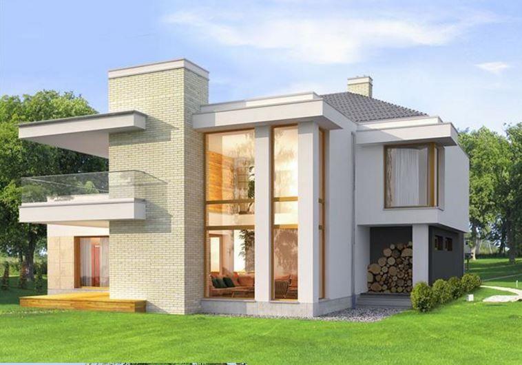Planos de casas y fachadas modernas casas en esquina for Planos y fachadas de casas minimalistas