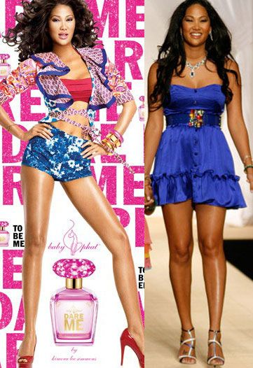 4859b2d5a4 Kimora Lee Simmons... Really .......of course even models can gain weight!