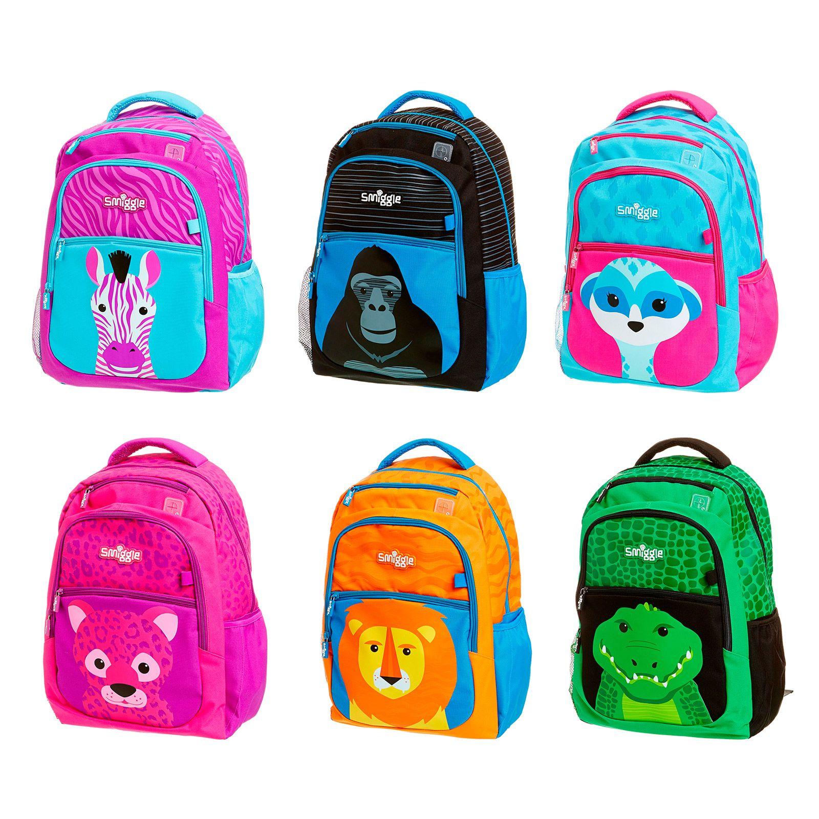 Smiggle bags for school - Safari Backpack Smiggle Uk