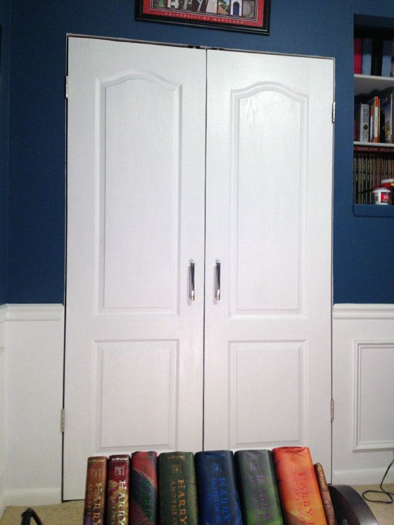 Charmant My Hubby And My Neighbor Are Amazing And Surprised Me By Installing New  Closet Doors In Our Office While My Best Friend And I Were Visiting My  Sister Last ...