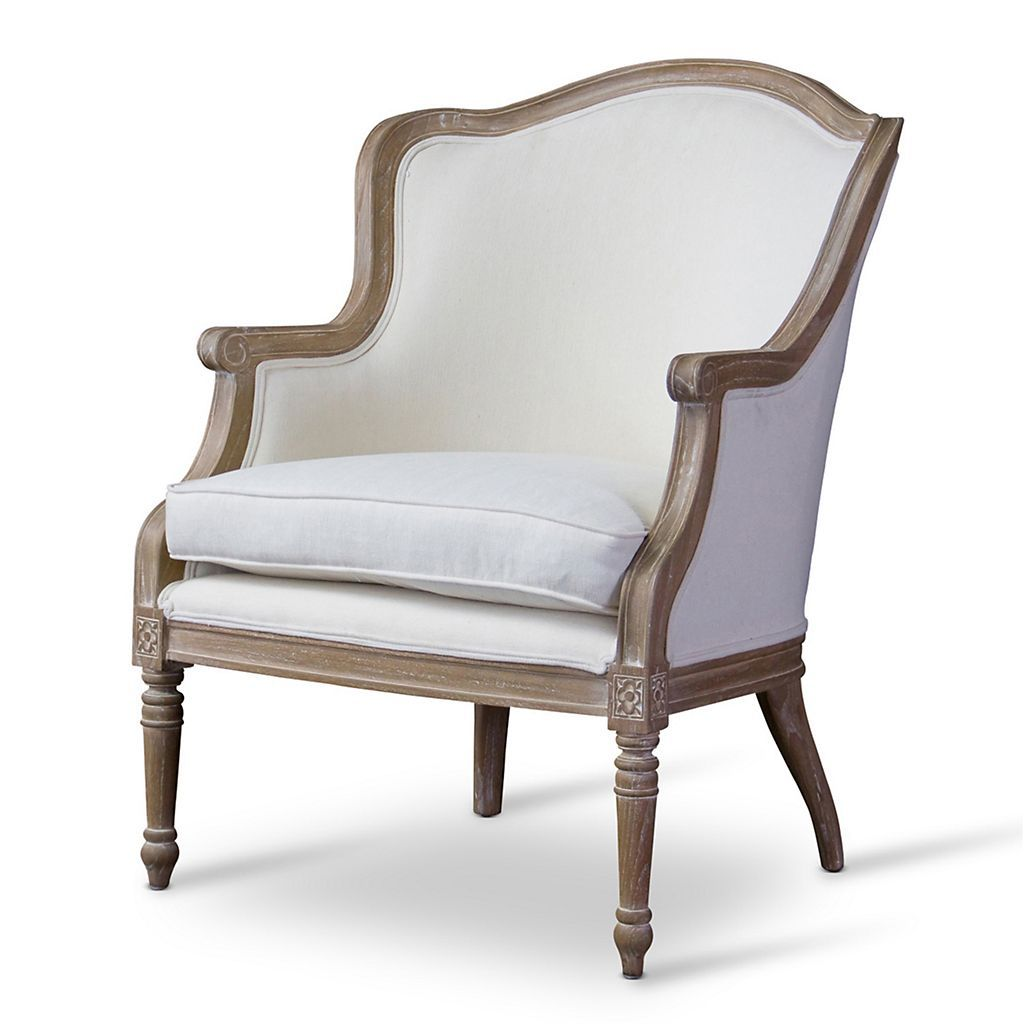 Baxton Studio Charlemagne French Accent Chair | Accent chairs ...