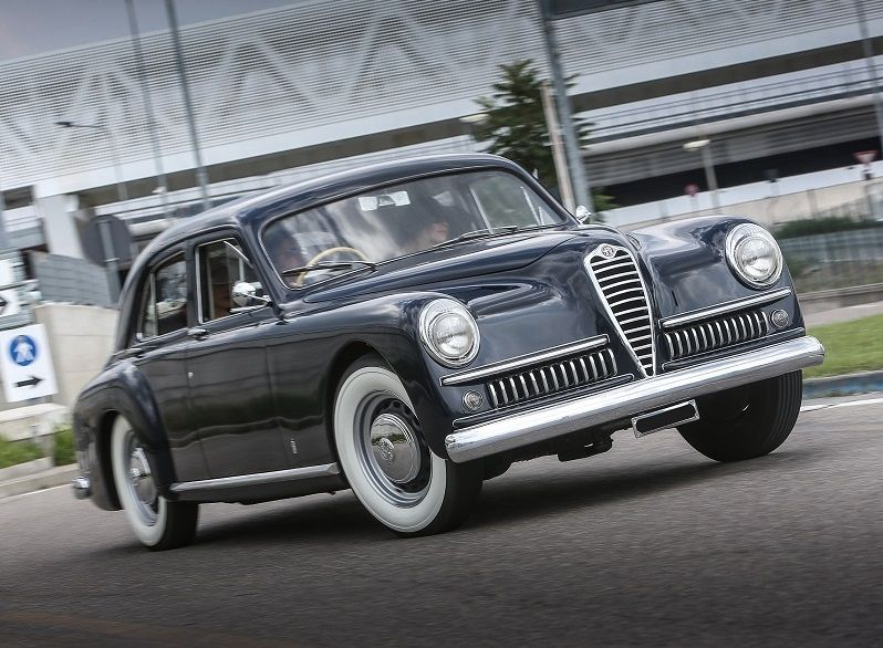 1951 Alfa Romeo 6c 2500 Sport Pininfarina Motore Avanzato Only