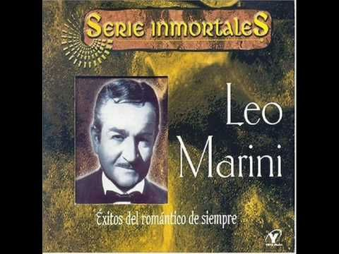 Leo Marini Amar Y Vivir Youtube Leo Marini Book Cover